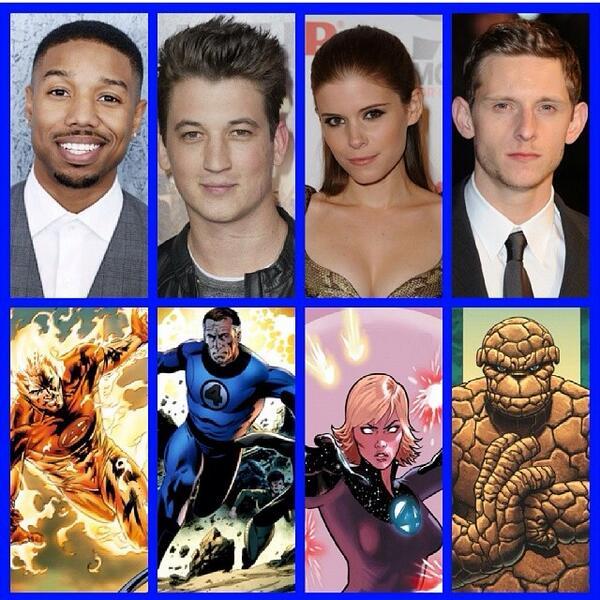 The new Fantastic Four cast