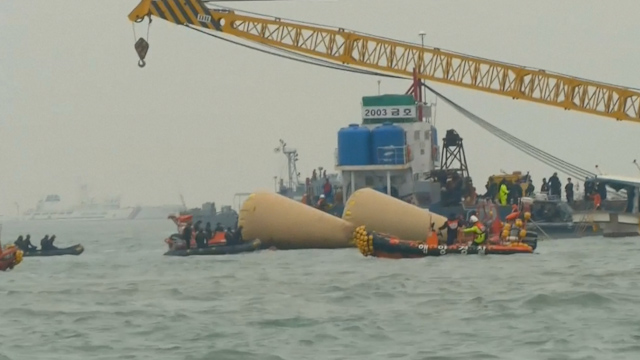 South Korean Ferry Suffered Power Cut Before Capsize
