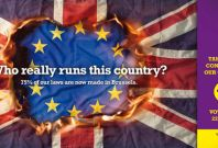 Ukip EU election poster