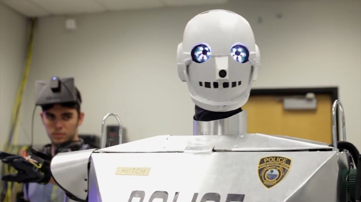 Real-Life Robocop Created for Disabled Police Officers