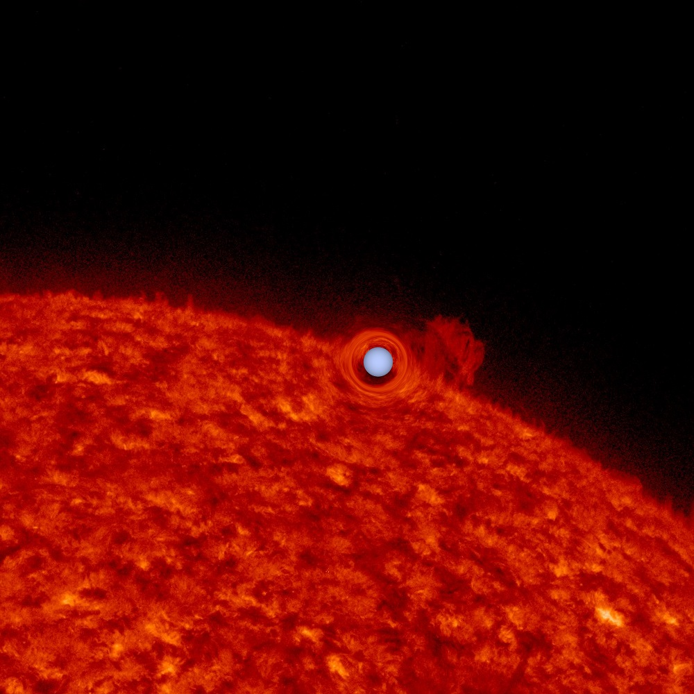upside down planet kepler telescope