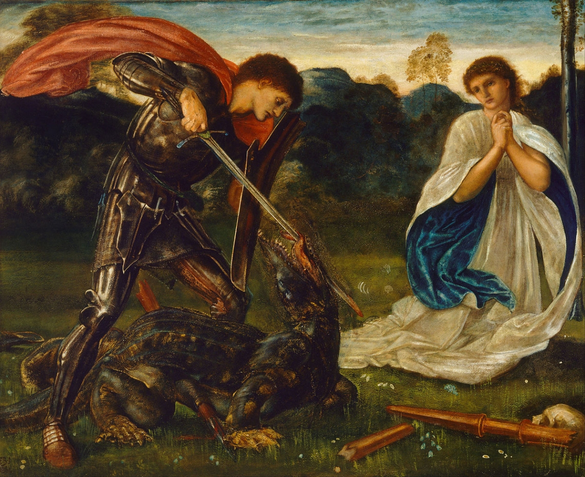 st george killing dragon