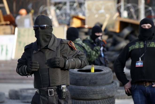 Ukraine crisis and anti-terror operation in eastern cities