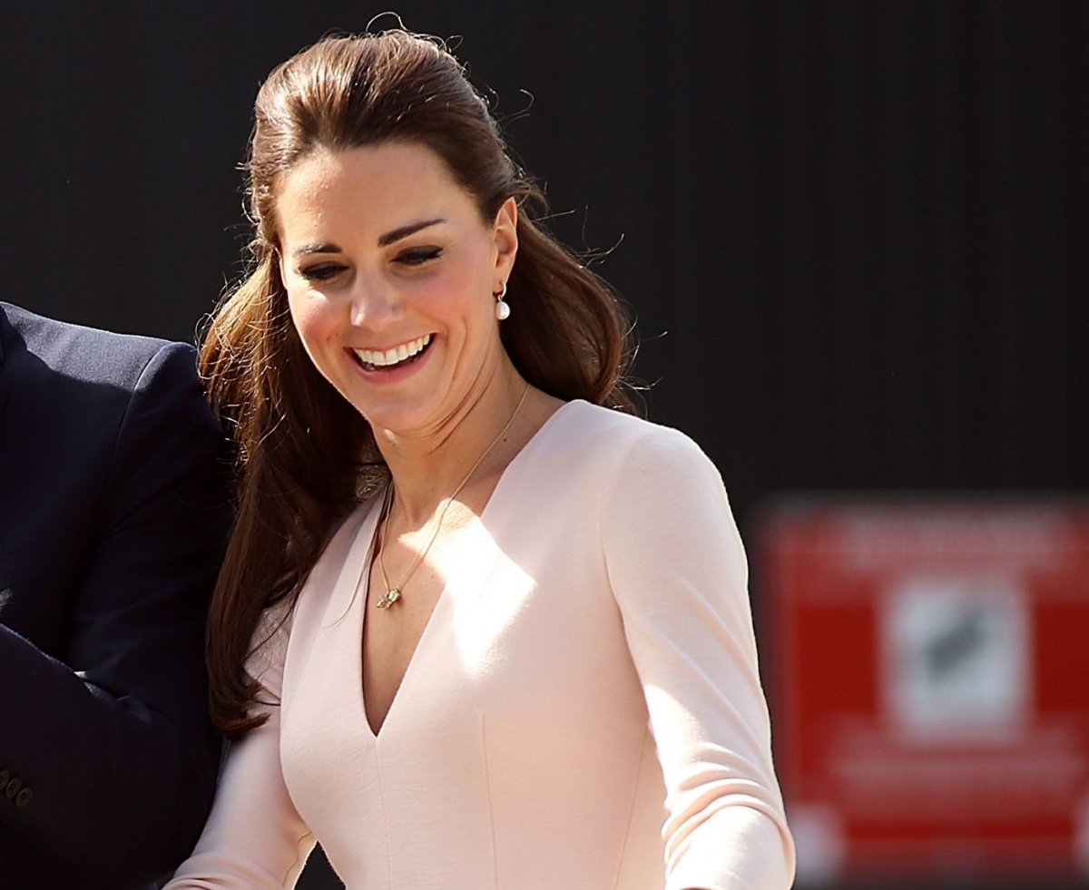 Kate Middleton Bare Bottom