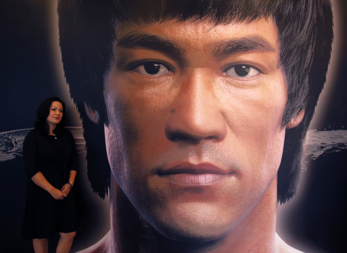 Bruce Lee's Martial Arts Pads and Shoes Selling in Online Auction