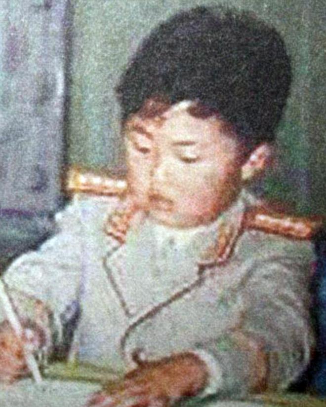 Kim writing