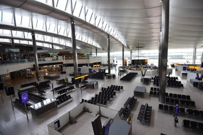 departures lounge