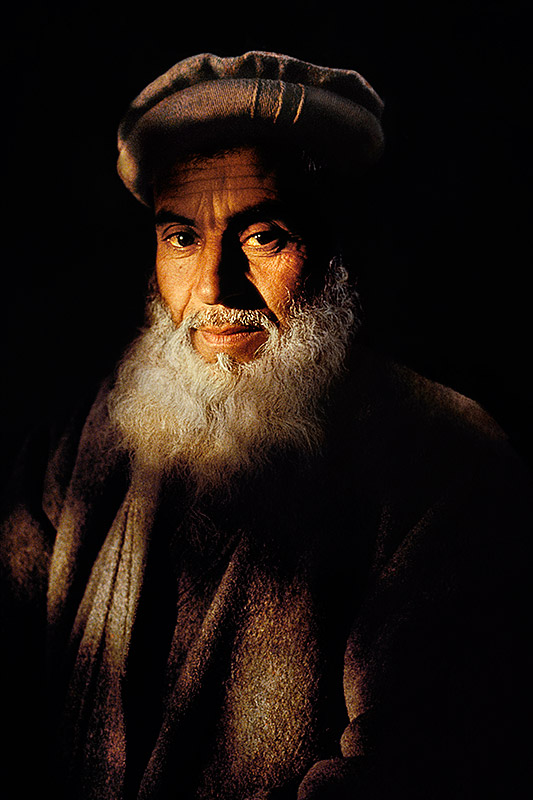 Man with cloudy beard, 1992