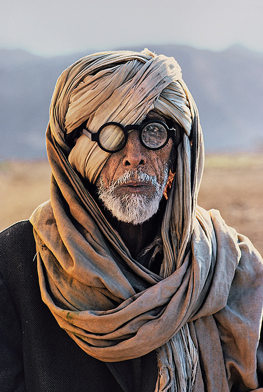 An Afghan refugee in Baluchistan, 1981