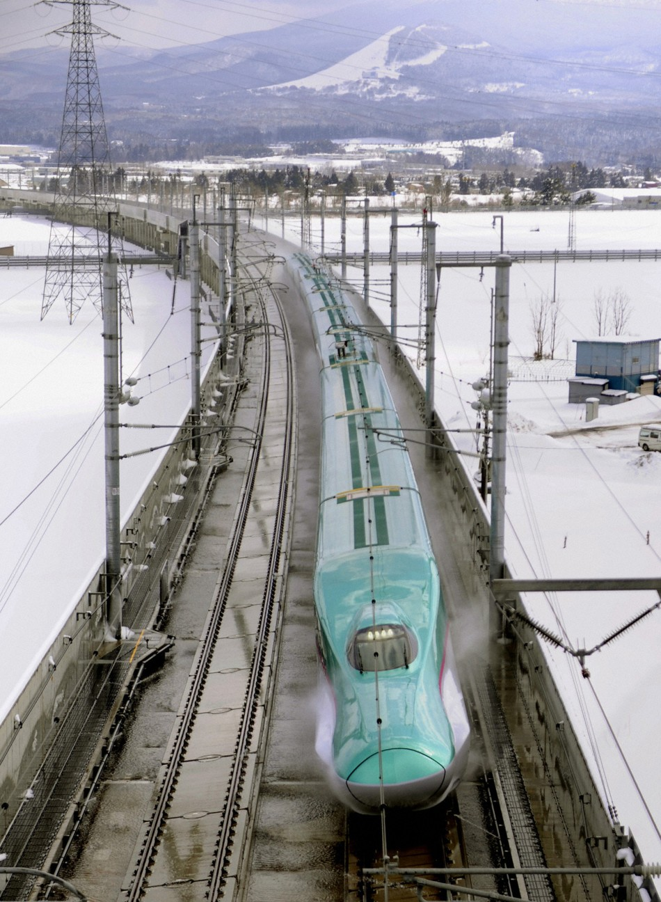 Hayabusa Bullet Train, Japan