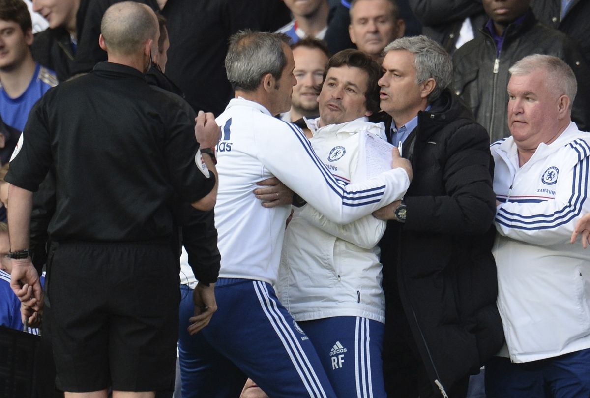Chelsea Coaching Staff