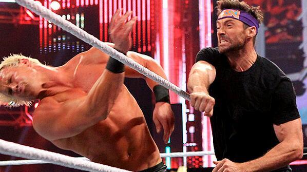Hugh Jackman on WWE Raw