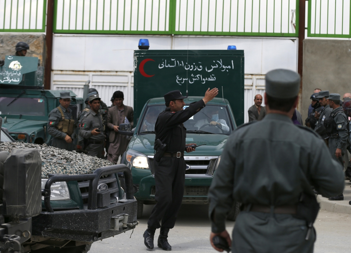 Kabul Child Hospital Attack US doctors Killed