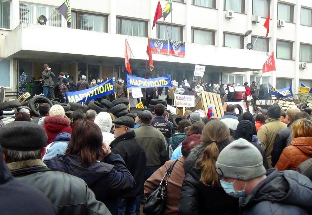Ukraine Mariupol Russia Eastern Europe