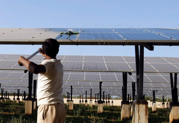 India Solar Power Plant