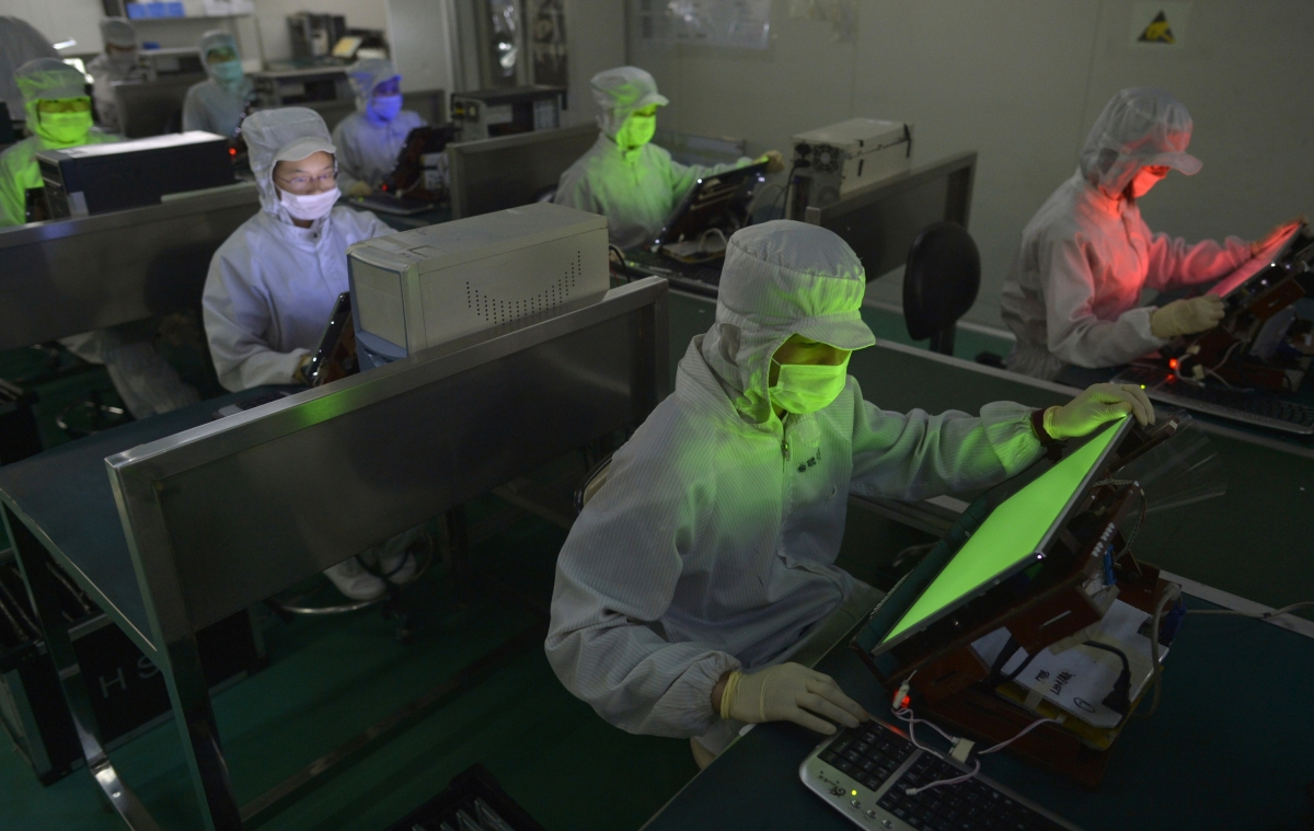 Samsung Factory Workers