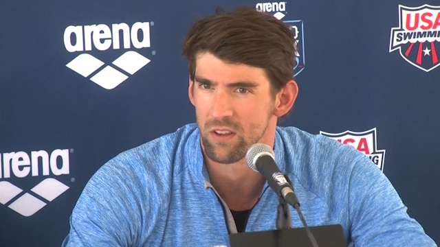 Michael Phelps Returns to Competitive Swimming