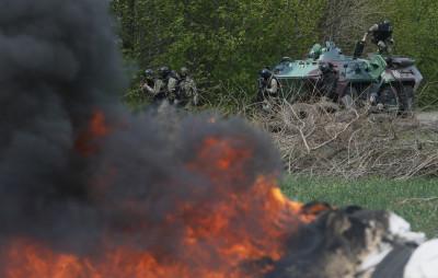 Ukraine News Five Pro-Russian Separatists Killed By Kiev Troops in Sloviansk