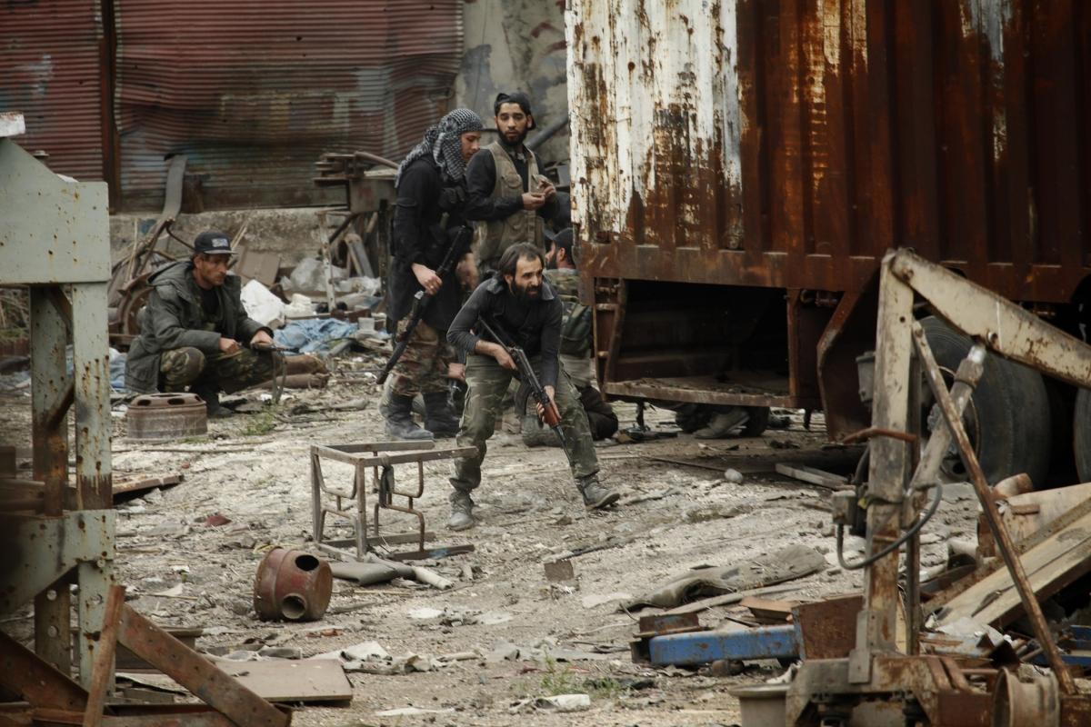 Syria Civil War CIA