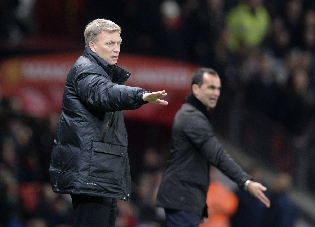 David Moyes-Roberto Martinez
