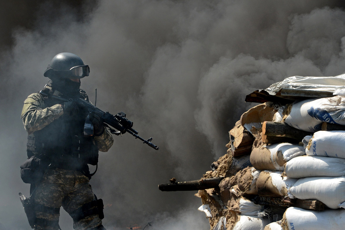 slaviansk barricade