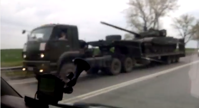 Russia Ukraine War Tank
