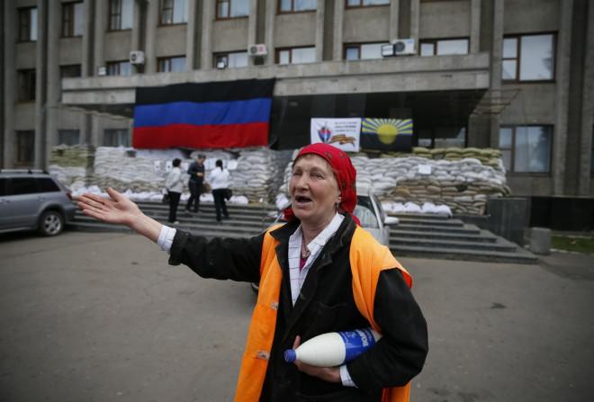 slaviansk checkpoint battle ukraine 4