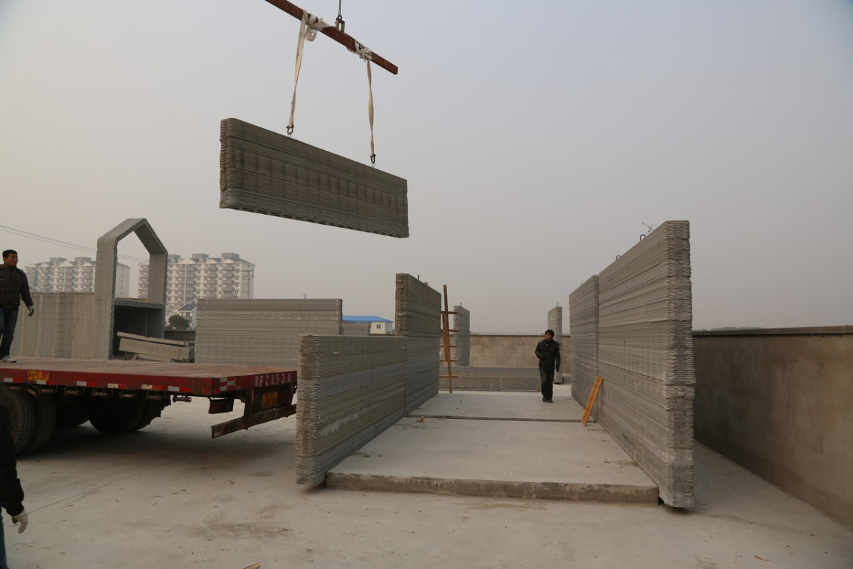 China recycled concrete houses 3d printed in 24 hours - How to get a 3d printed house ...