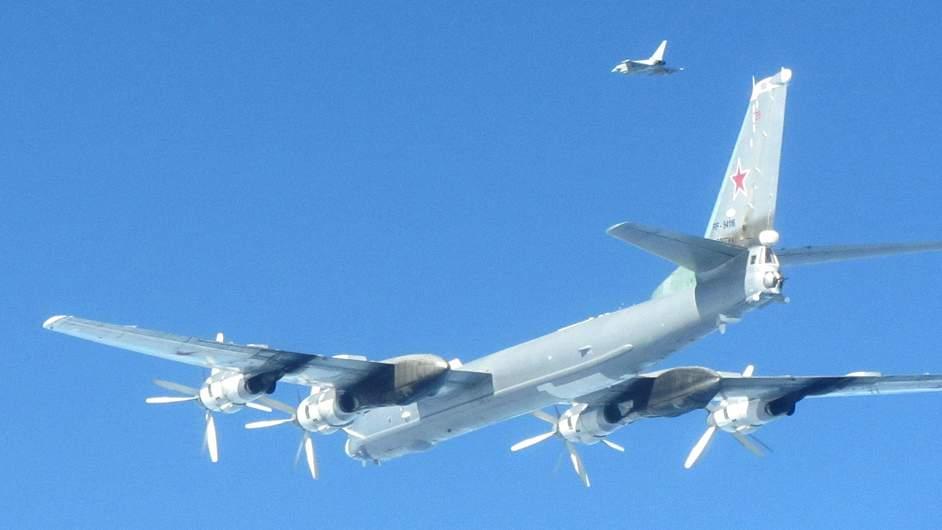 Russian Bombers near British Airspace