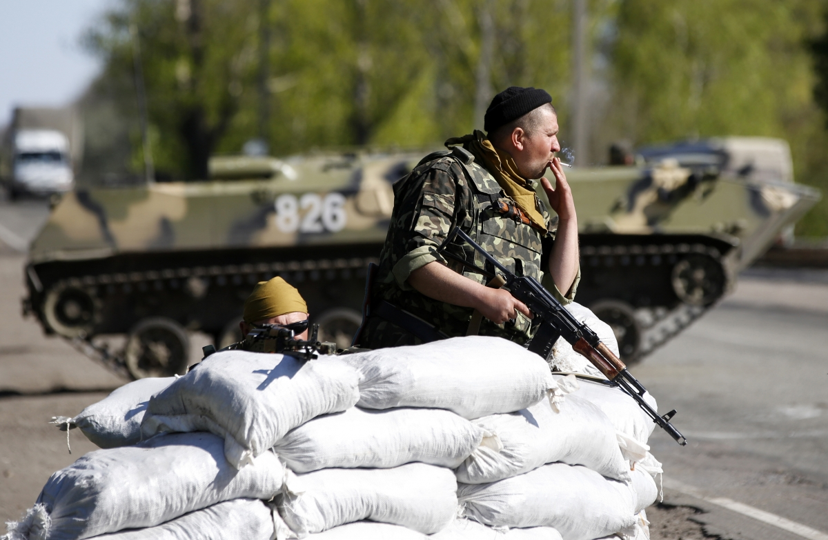 Ukraine tensions and Russia military drill