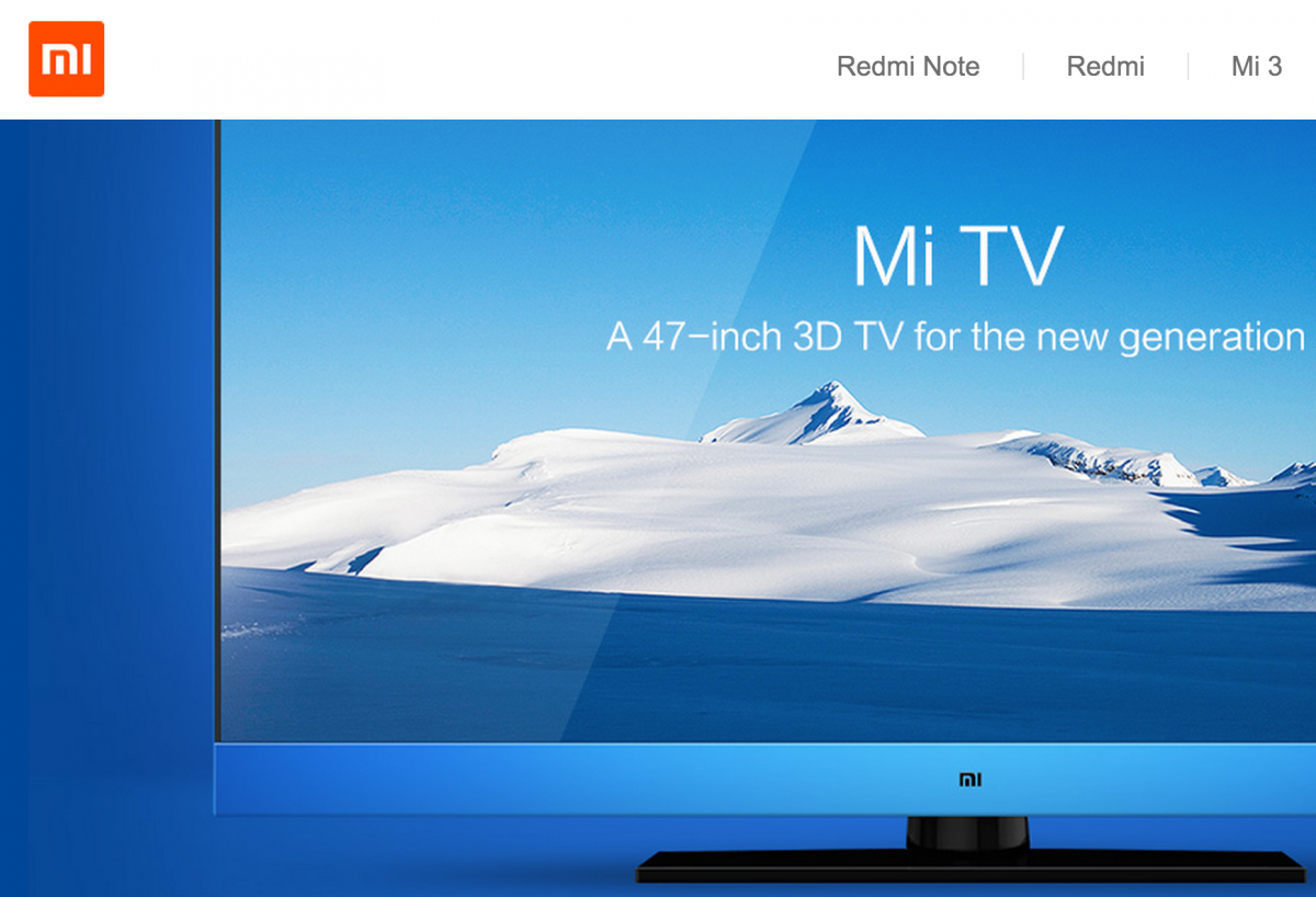 Xiaomi ReBrands as Mi.com