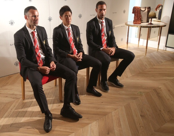 Ryan Giggs Paul Smith