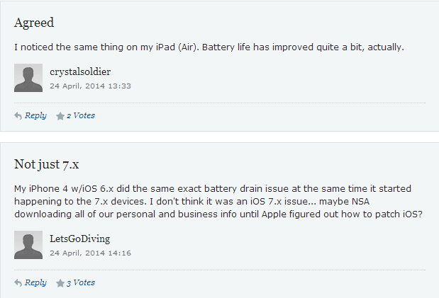 iOS 7.1.1 Delivers Significantly Improved Battery Performance