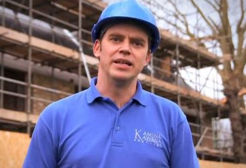 Andre Lampitt donned a hard hat and moaned about