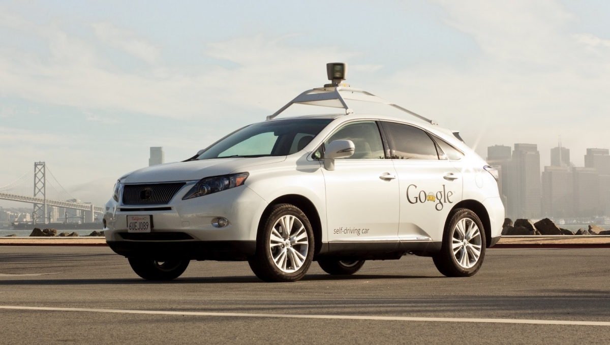 google car accident self-driving diverless