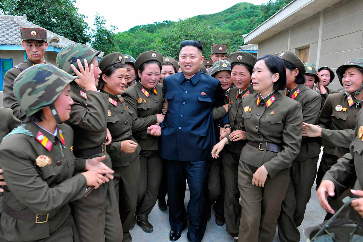Image result for Kim Jong Un WITH GIRLS