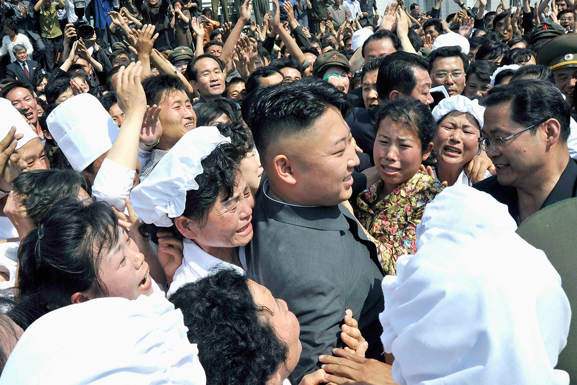 kim jong un fan club