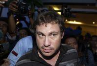 Matt Christopher allegedly got drunk and caused havoc on a flight from Brisbane to Bali