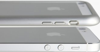 iPhone 6 curved edges