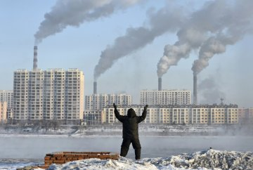 China Pollution Asia Environment