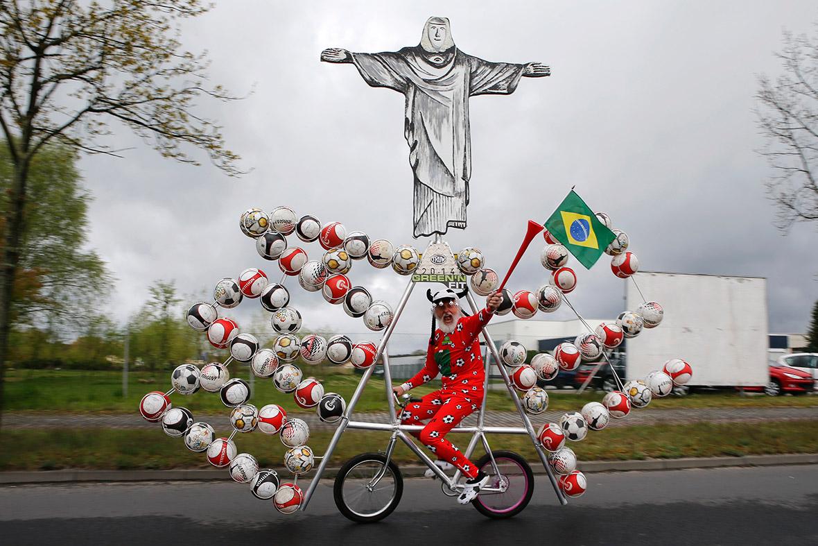 Christ on a bike