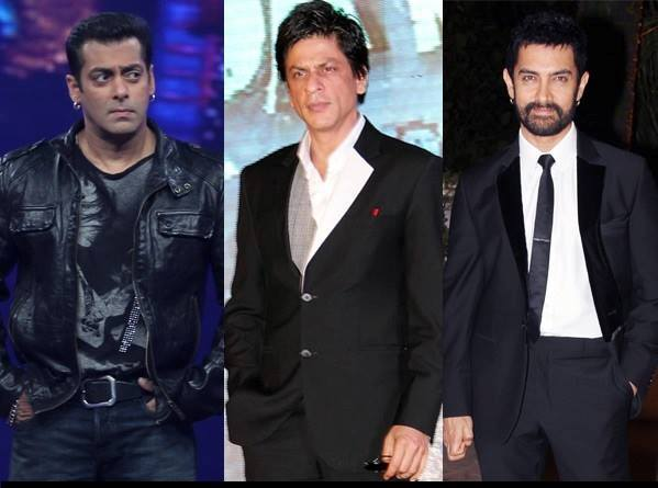 Shahrukh, Salman and Aamir Khan