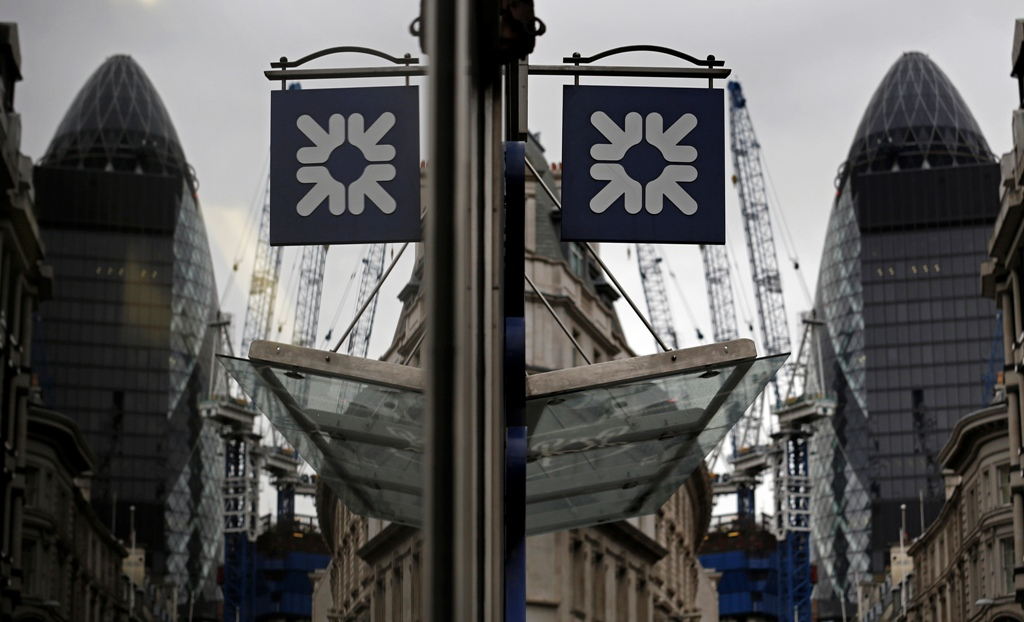 RBS's shares pare gains