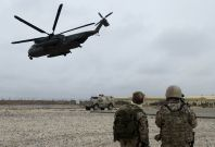 Five Nato troops have been confirmed dead after a helicopter crash in southern Afghanistan.