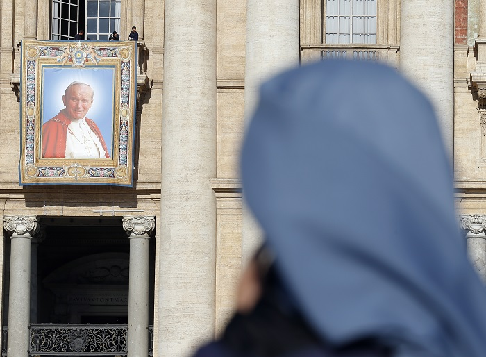 Some Catholics have interpreted Marco Gusmini's death as a bad omen ahead of Pope John Paul II's canonisation.