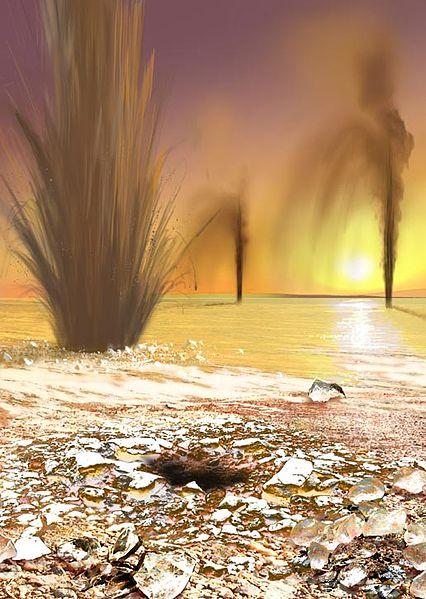 Mars geysers