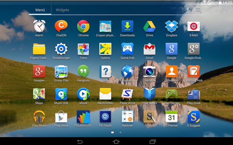 Android 4.4.2 KitKat for Galaxy Note 10.1 N8000