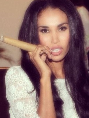 Donald Sterling's girlfriend V Stiviano.