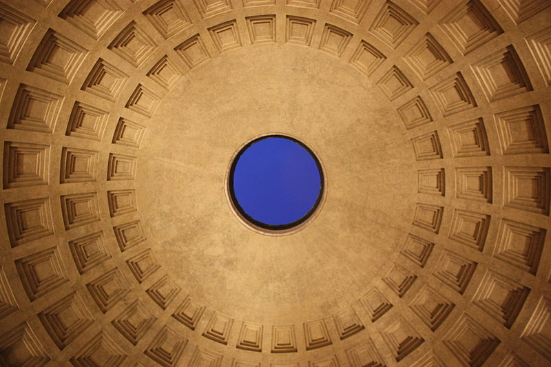 Almost two thousand years after it was built, the Pantheon's dome is still the world's largest unreinforced concrete dome