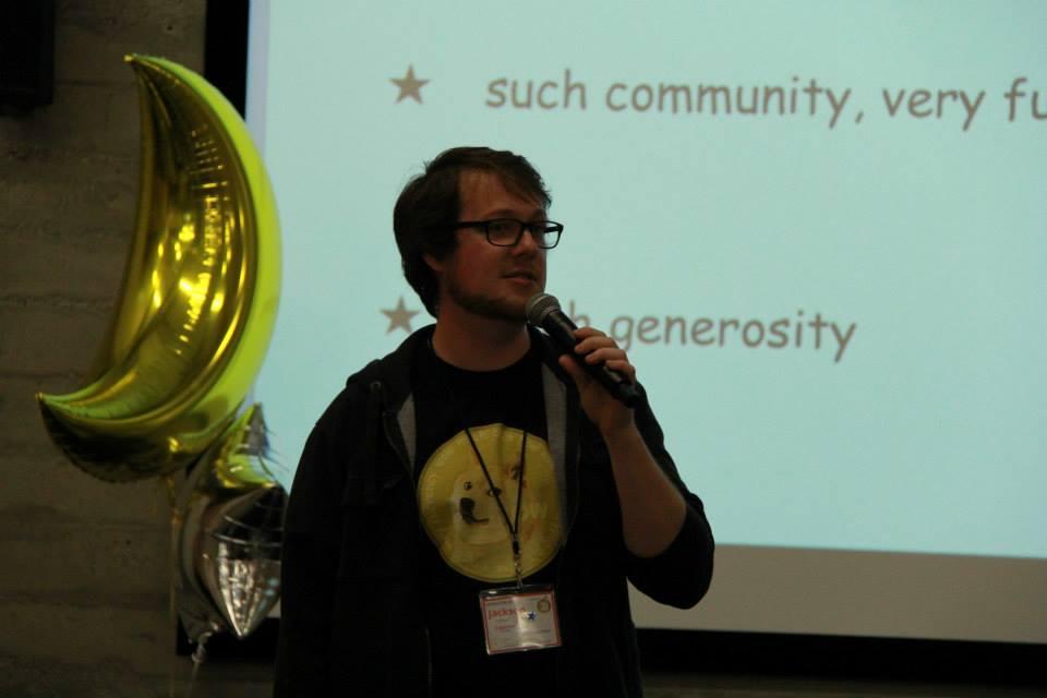 Jackson Palmer - Dogecoin Founder - at Dogecon SF